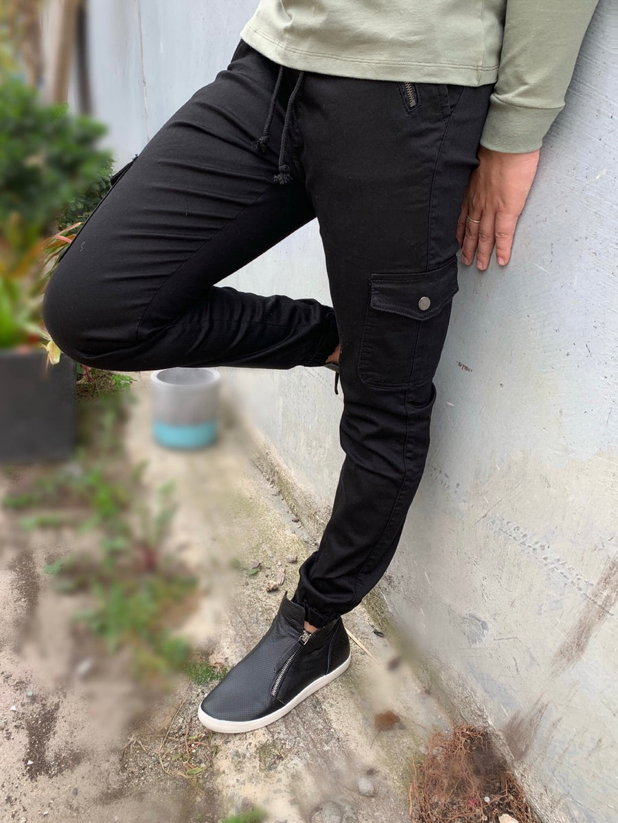 Jersey Joggers : Black (2 for $90)
