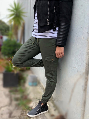 Jersey Joggers : Khaki (2 for $90)