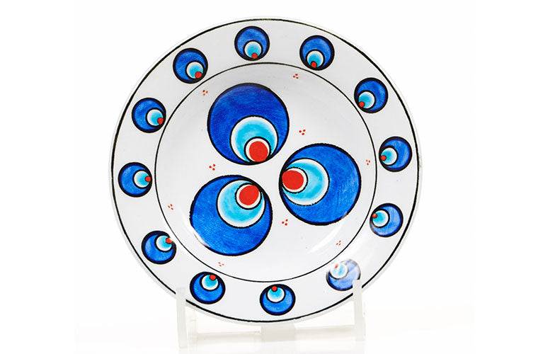 chintamani pattern iznik plate