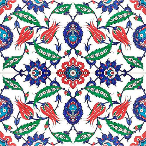 iznik tile pattern