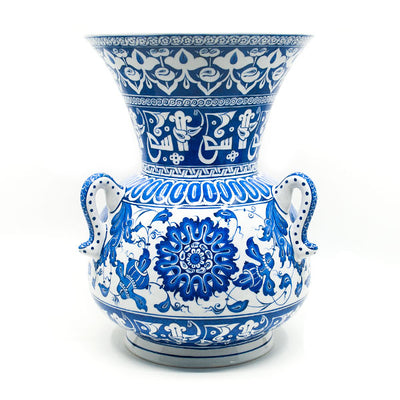 Iznik Ceramic Mosque Lamp Baba Nakkaş