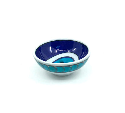Evil Eye Pattern Iznik Bowl