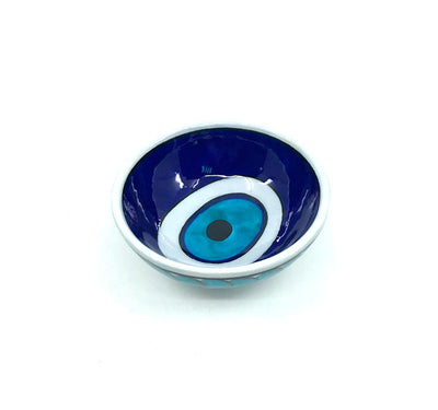 Evil Eye Pattern Iznik hand made Bowl