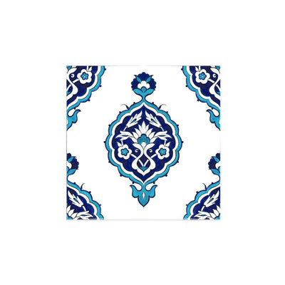 iznik Tile with Medallion Design