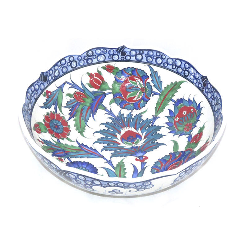 Iznik Bowl Sycamore Leaves