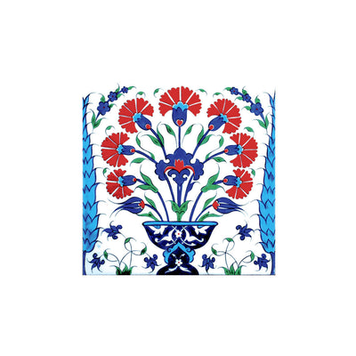 Iznik Tile Bouquets of Carnations