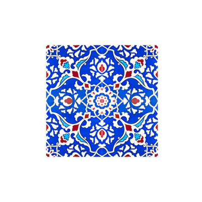 Wonderful Iznik tiles of the Dome of the Rock