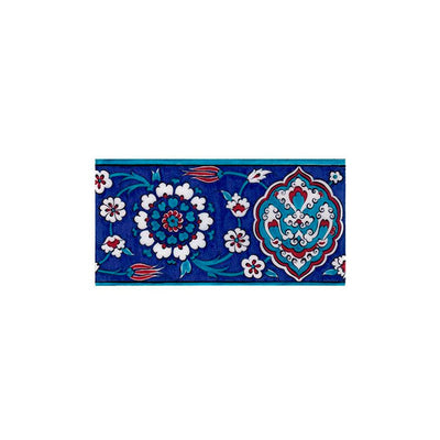 Iznik Border Tile from Rustem Pasha Mosque