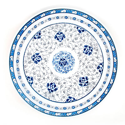 Iznik Serving Plate Golden Horn design