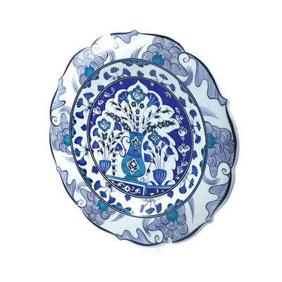 hand made iznik plate antaki collection
