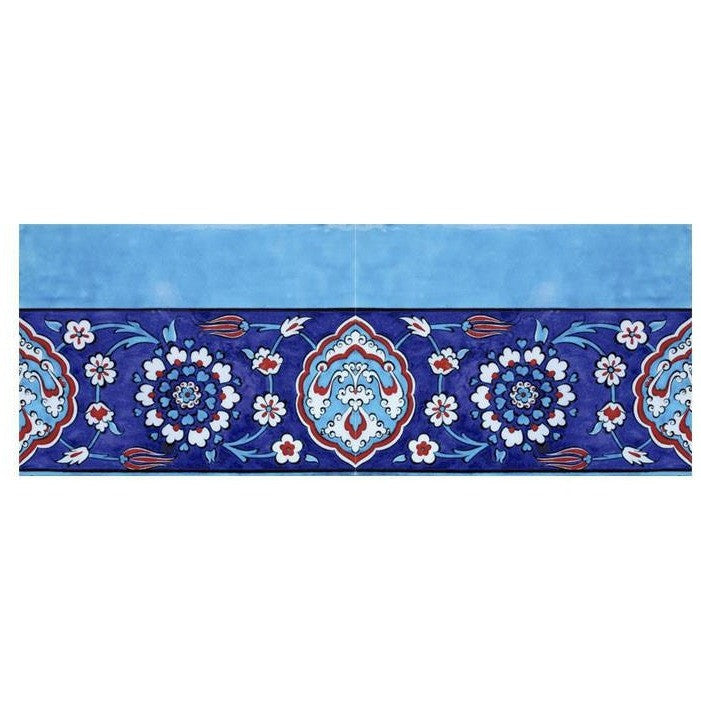 Border - Iznik Tile Bordure | Rustem Pasha Mosque