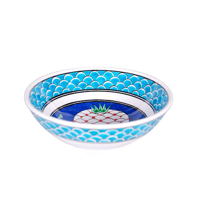 Iznik Bowl Design with Pomegranate Flower