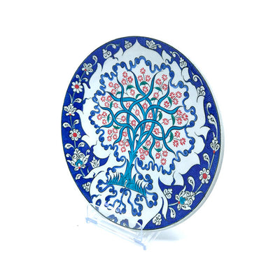 Iznik Plate Tree of Life Pattern