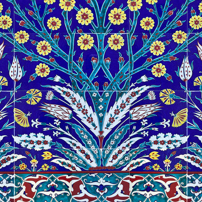 iznik panels tree of life pattern