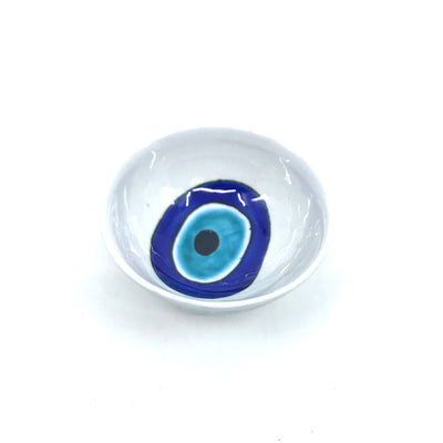 Evil eye design Iznik Bowl