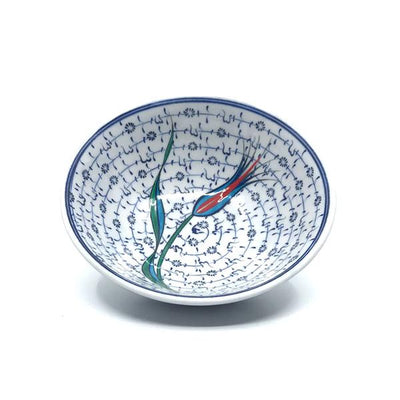 Iznik Bowl Golden Horn and Tulip