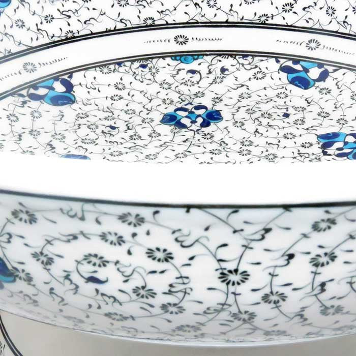 golden horn pattern iznik bowl