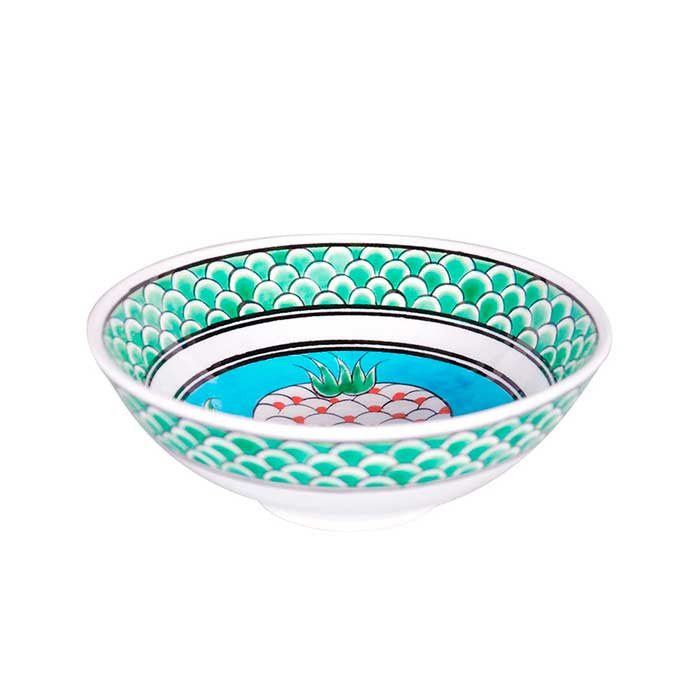 iznik bowl pomegranate pattern