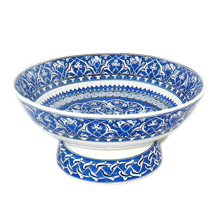 iznik ceramic bowl hand painted