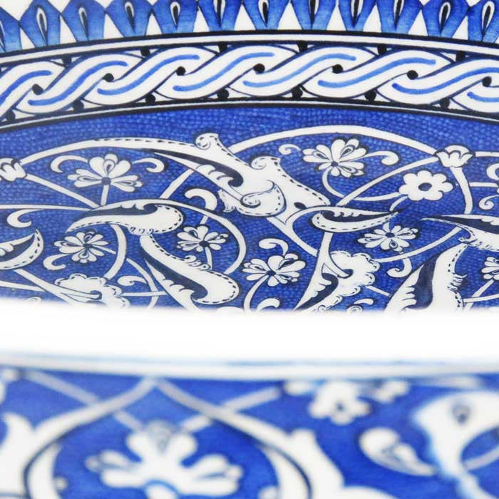 iznik hand decorated bowl