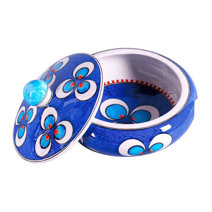 Iznik Sugar Bowl Chintamani Design