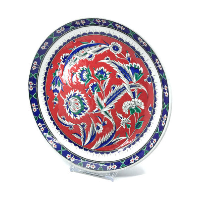 Iznik Plate Palmette and Carnation