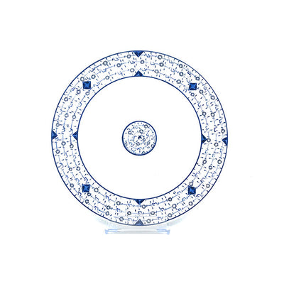 Golden Horn pattern iznik ceramic dinner plate