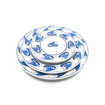 Galleon pattern iznik platter
