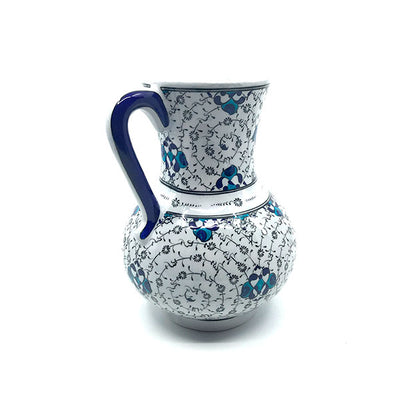 Iznik jug black golden horn pattern