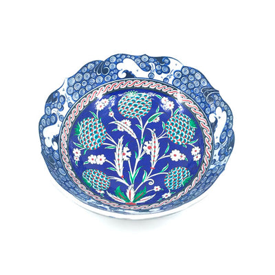 Iznik bowl pomegranate flower