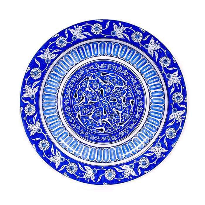 Beautiful iznik plate arabesque