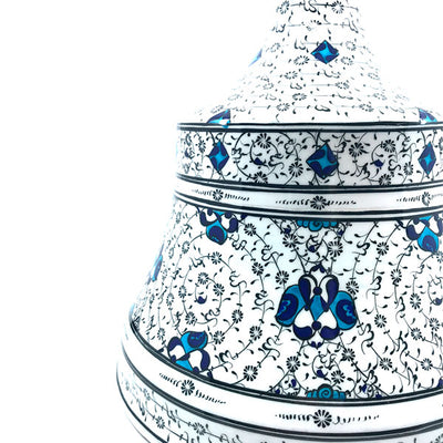 iznik pottery candle