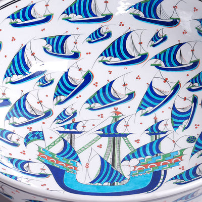 Limited production Iznik bowl