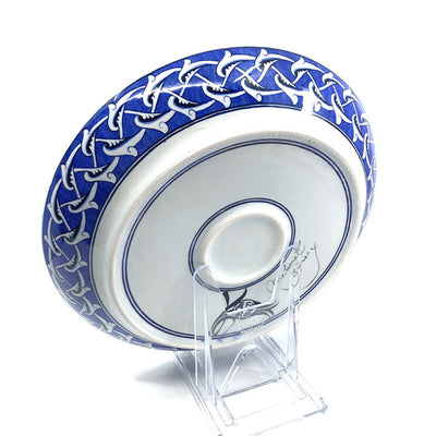 Iznik deep plate with tree of life