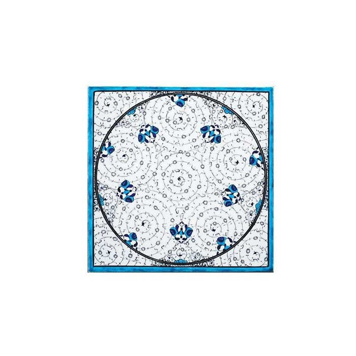 Iznik Tile Golden Horn Pattern