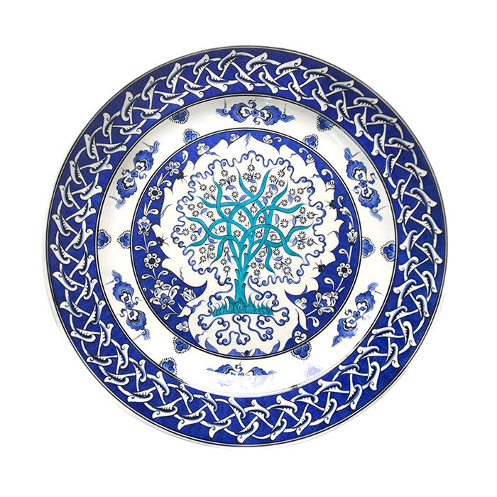 Iznik Plate Tree of Life Design