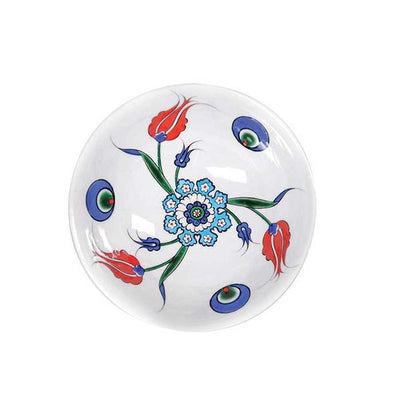 Iznik Tulip Design Soup Bowl