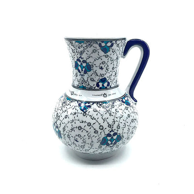 Iznik jug black golden horn design
