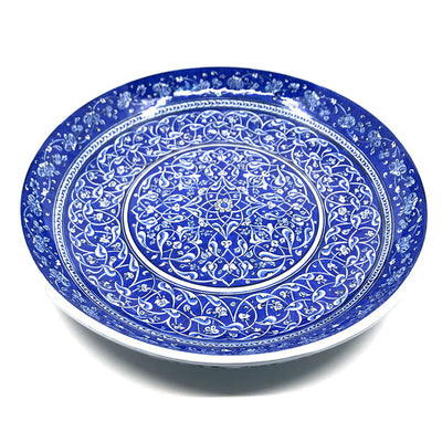 Important Blue and White Iznik Plate