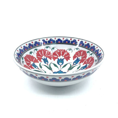 Iznik bowl with carnation pattern