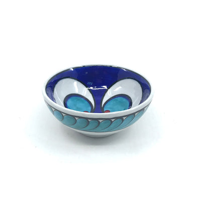 Chintamani pattern cobalt-blue Iznik Bowl