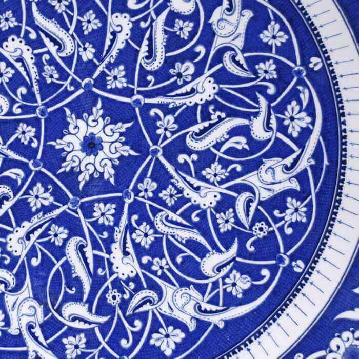 Iznik Plate The Museum Of Turkish and Islamic Works And Arts