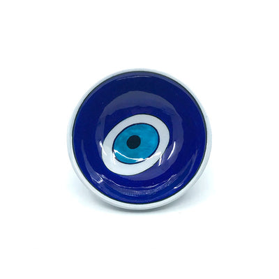 Iznik tile Bowl Evil Eye pattern