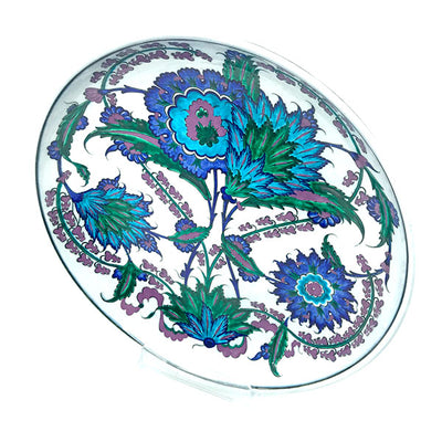 Iznik plate with branches of hyacinth