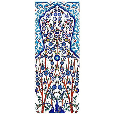 Panel - Iznik Tile Panel | Topkapi Palace, Zenana