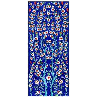 Panel - Iznik Tile Panel | Tree Of Life