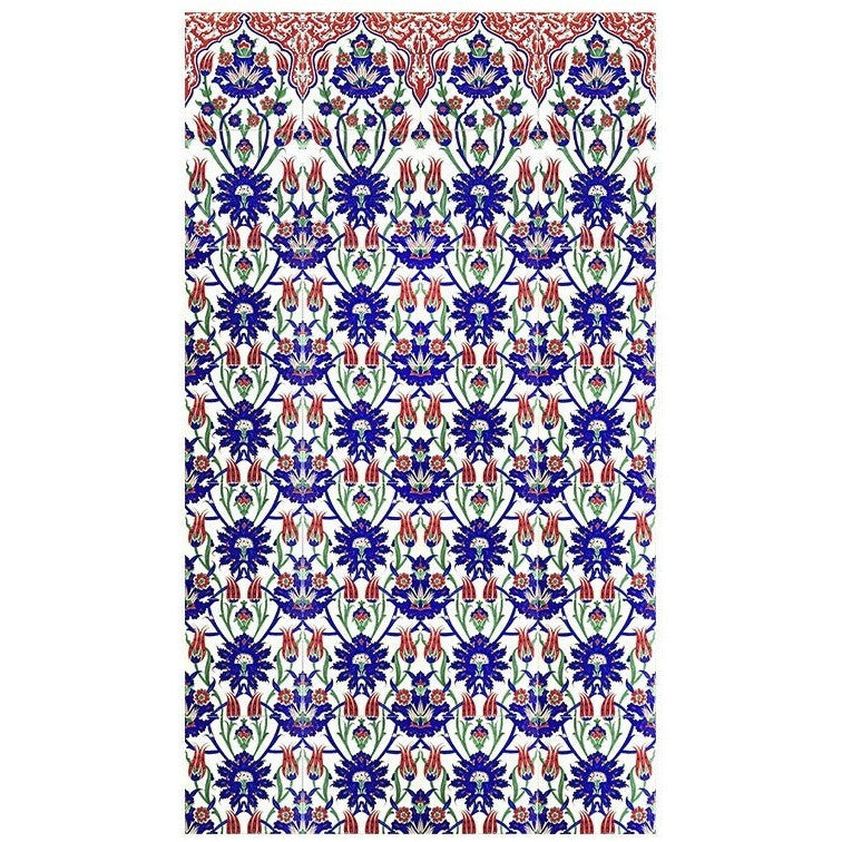 Panel - Iznik Tile Panel | Tulip Design