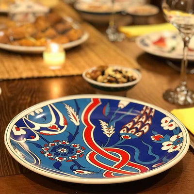 Iznik Porcelain Serving Platters