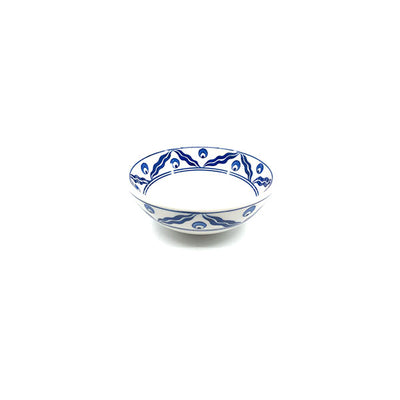 Chintamani design iznik ceramic sauce bowl