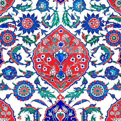 iznik panel in selimiye mosque